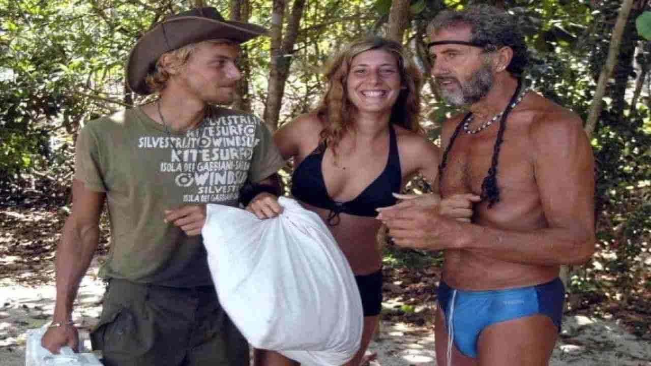 Davide Silvestri all'Isola dei Famosi con Pappalardo e De Blank
