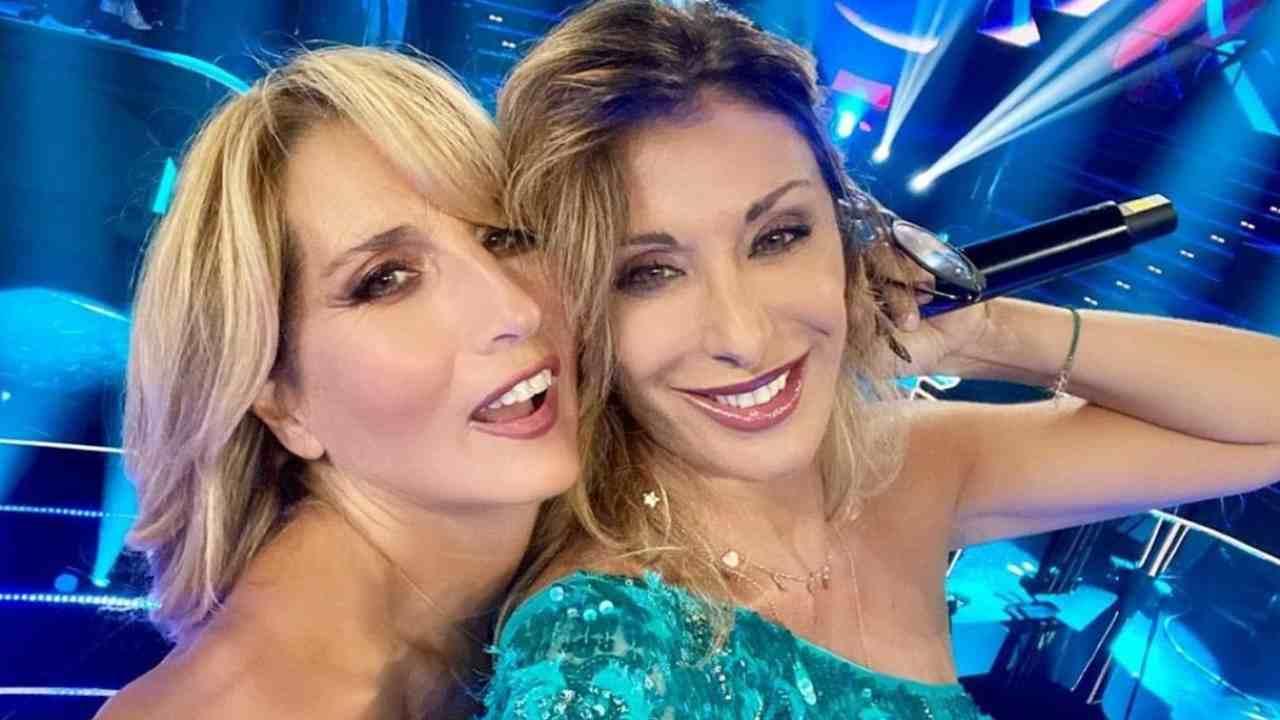 Jo Squillo insieme a Sabrina Salerno